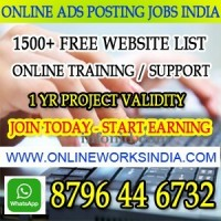 Ad posting jobs India online ad posting jobs in India Earn 10000 pm